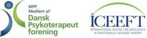 logo fra Dansk Psykoterapeut Forening og emotionsfokuseret parterapi